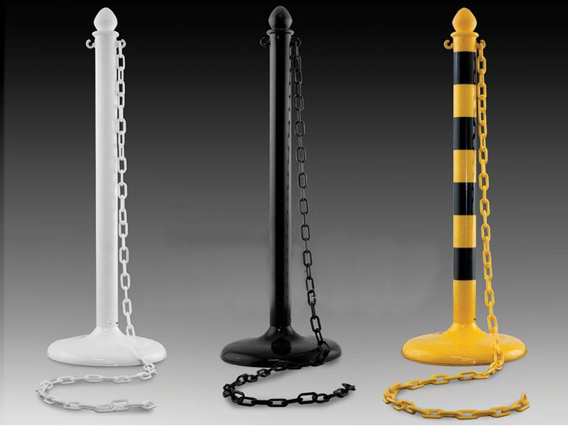 Plastic Stanchion Posts
